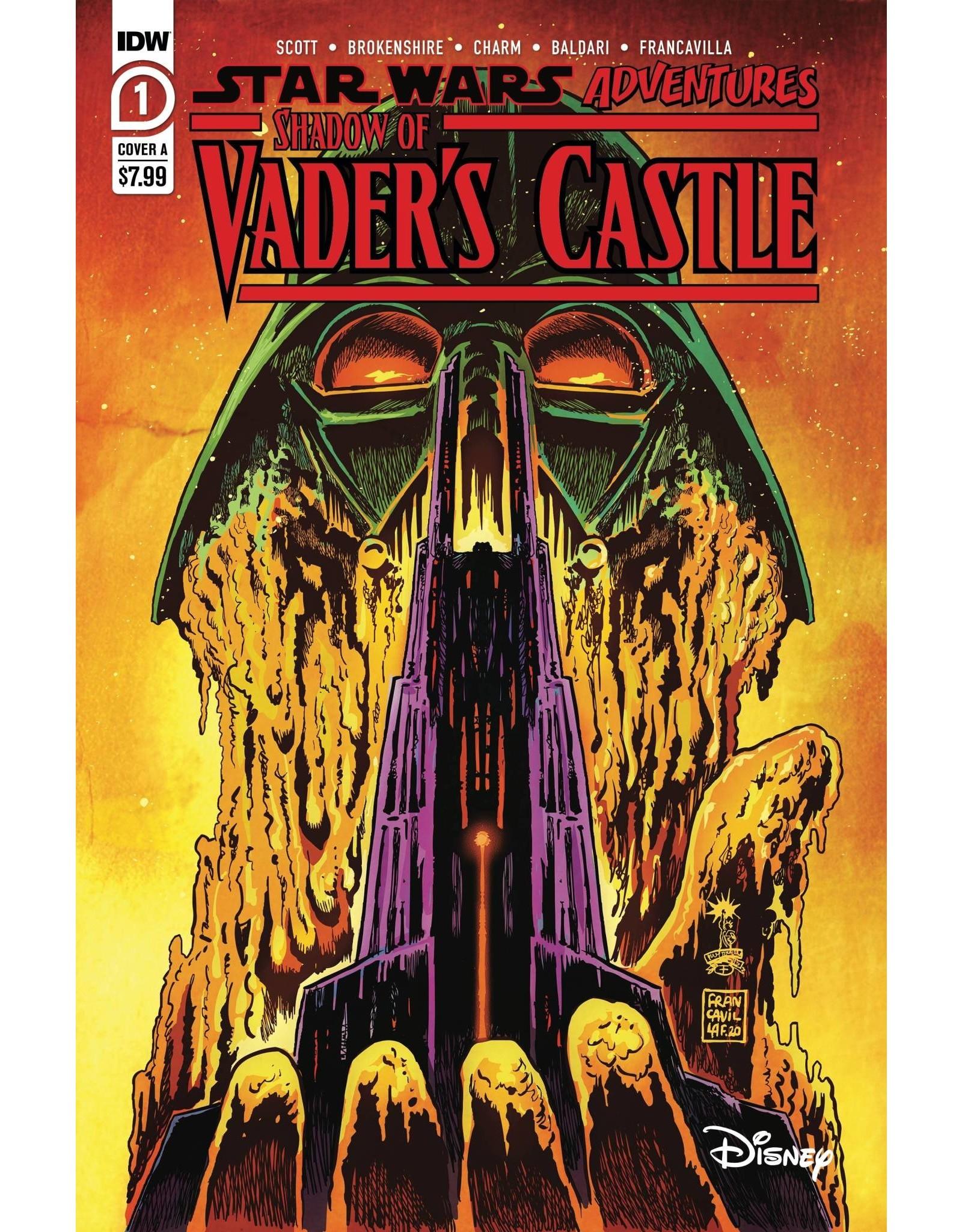 IDW PUBLISHING STAR WARS ADV SHADOW OF VADERS CASTLE CVR A FRANCAVILLA (C: