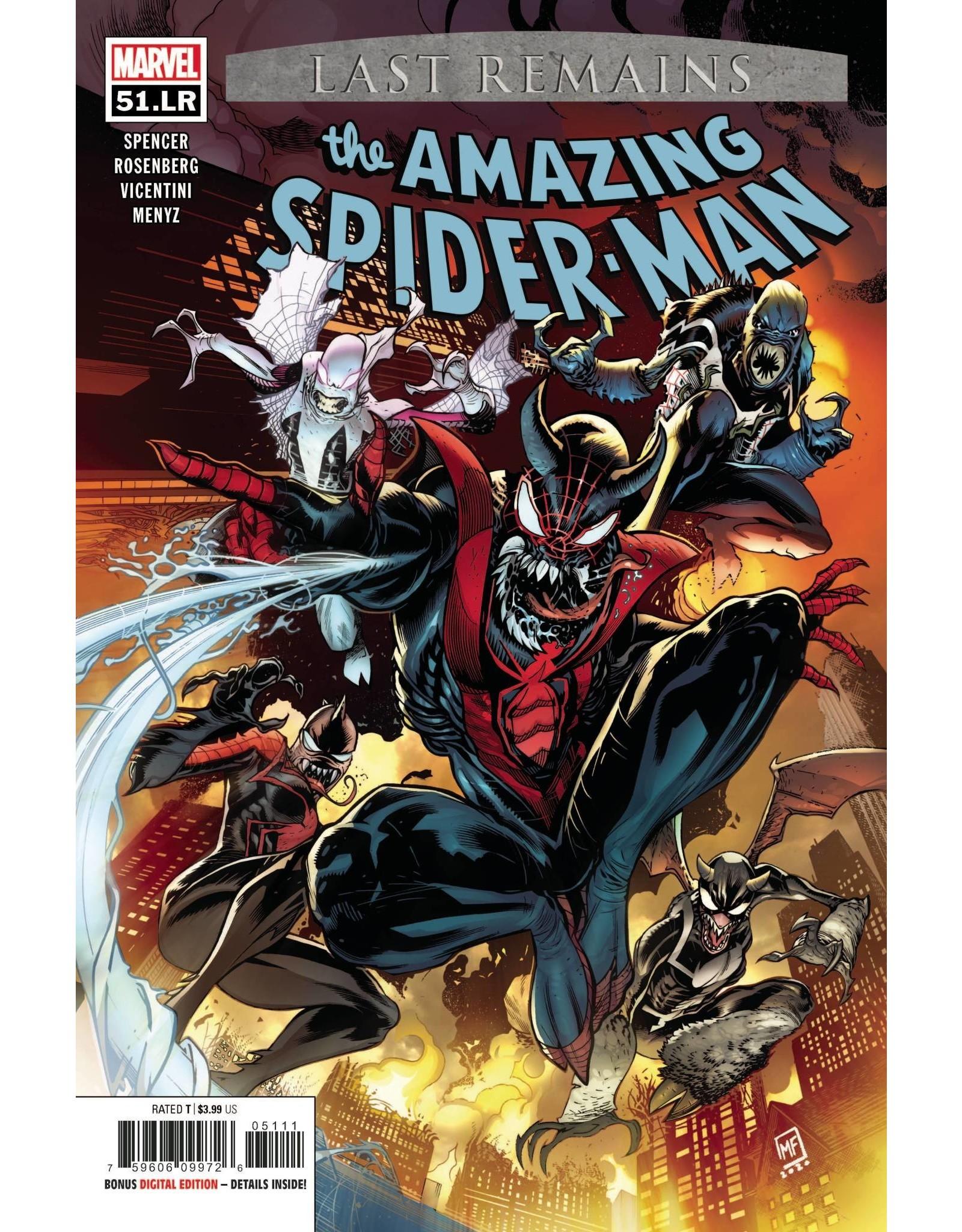 Marvel Comics AMAZING SPIDER-MAN #51.LR