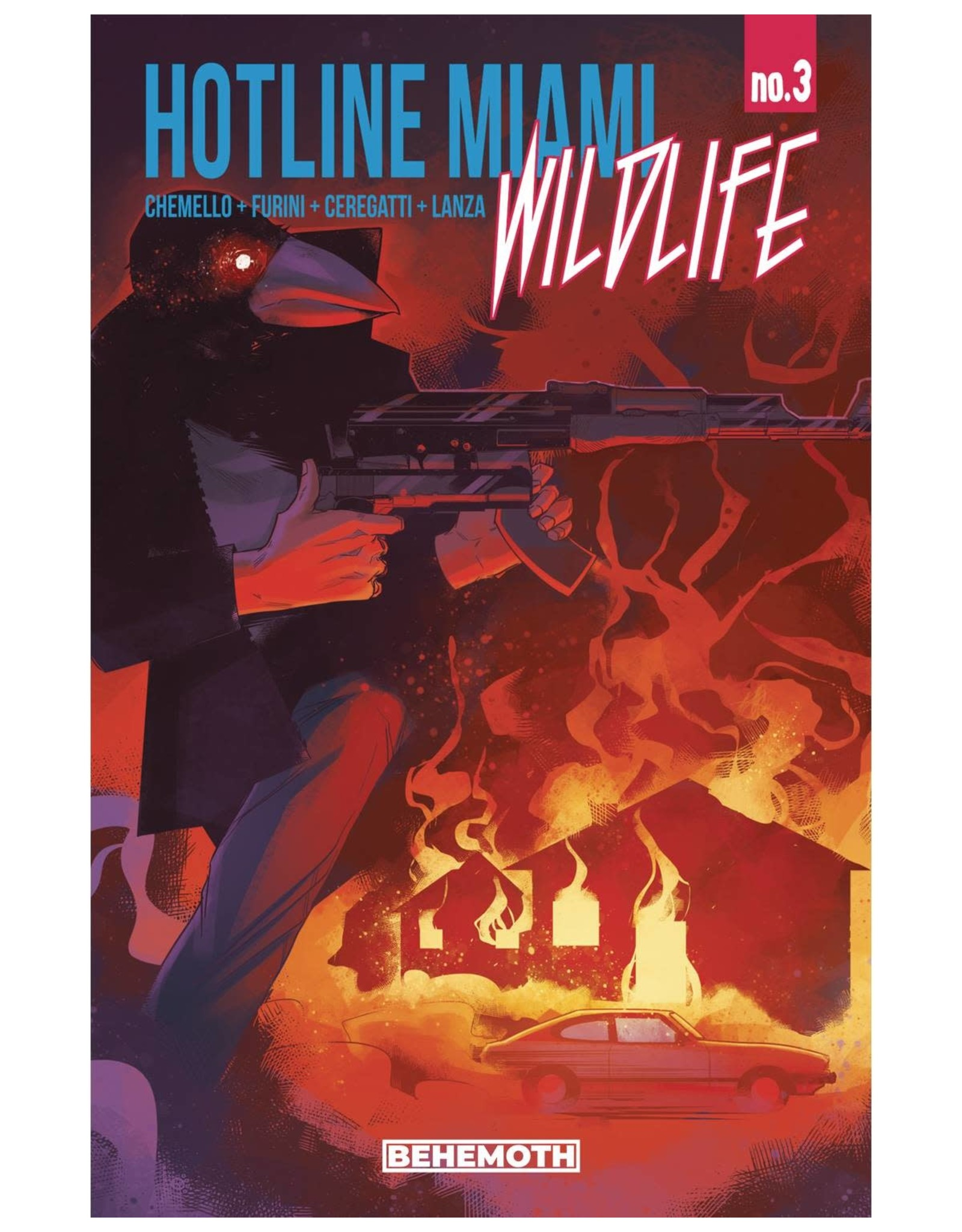 BEHEMOTH HOTLINE MIAMI WILDLIFE #3 (OF 8) (MR)