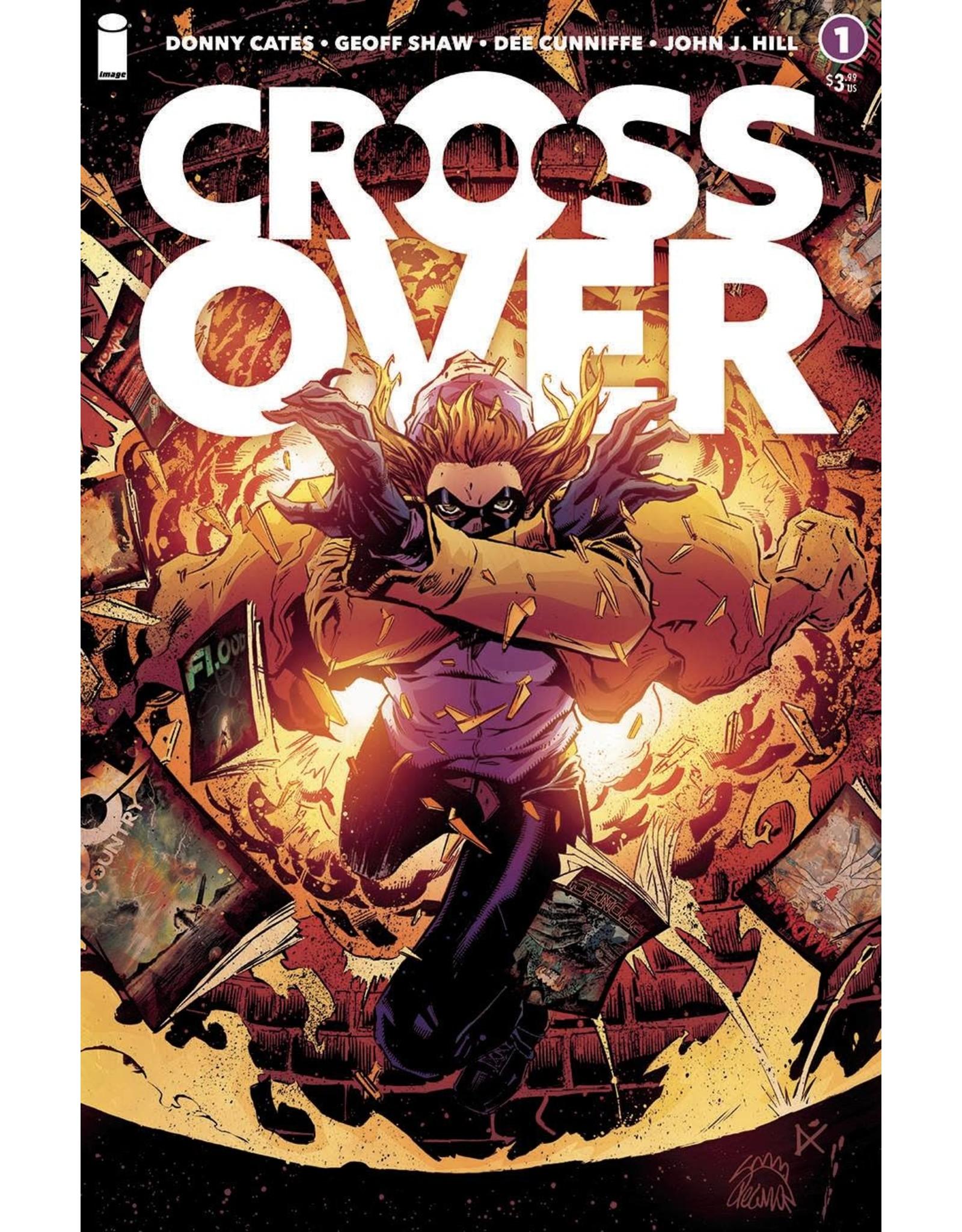 Image Comics CROSSOVER #1 CVR B STEGMAN & CUNNIFFE