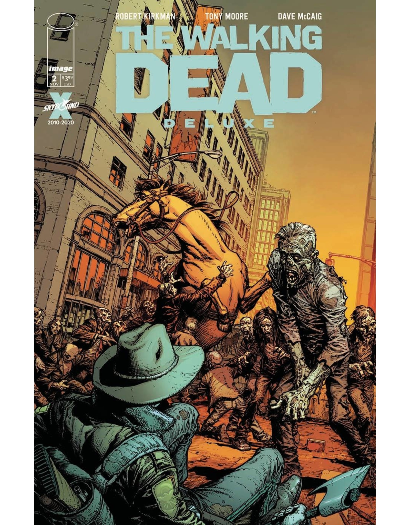 Image Comics WALKING DEAD DLX #2 CVR A FINCH & MCCAIG (MR)