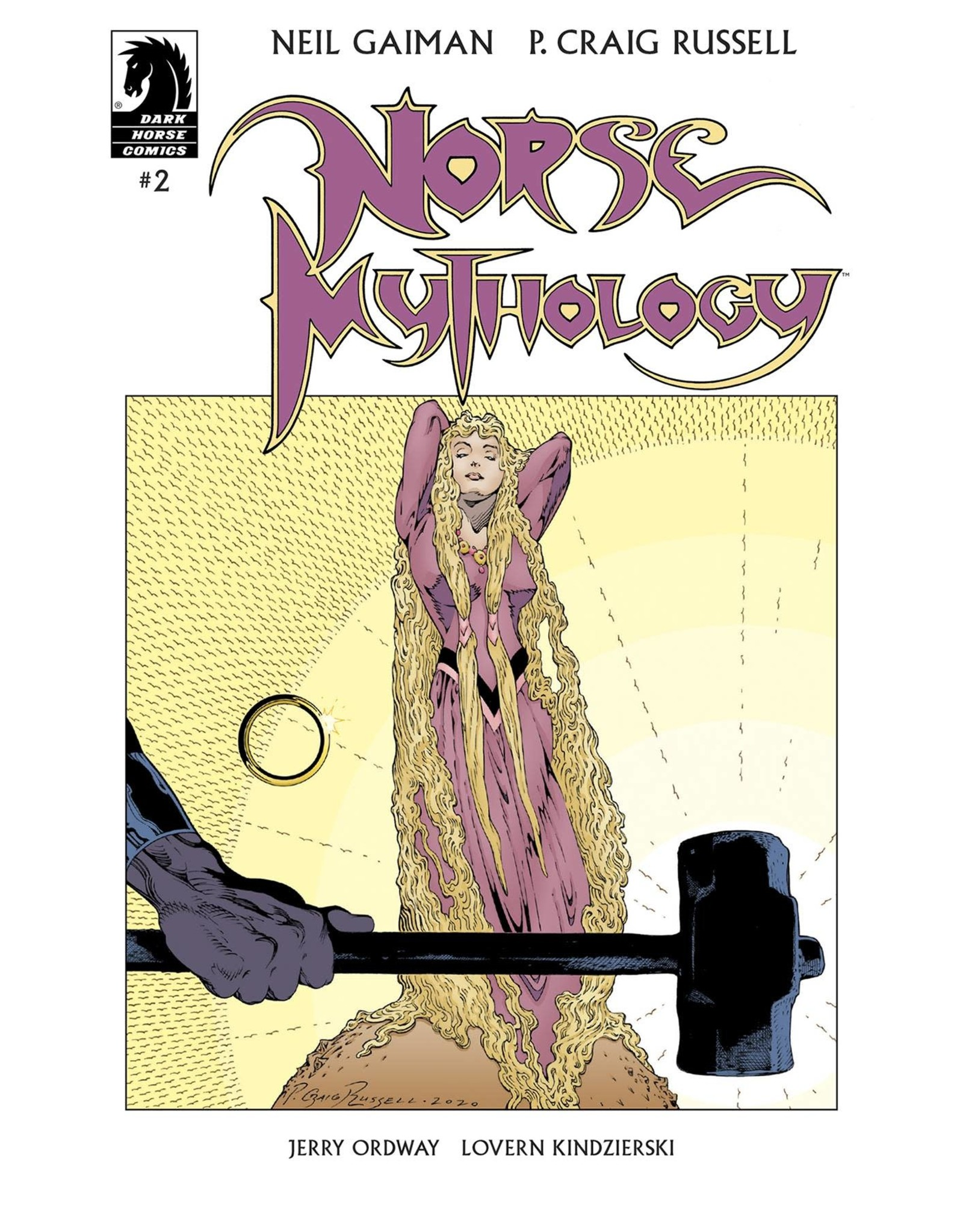 DARK HORSE COMCIS NEIL GAIMAN NORSE MYTHOLOGY #2 CVR A RUSSELL (C: 1-0-0)