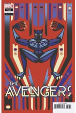 Marvel Comics AVENGERS #38 VEREGGE BLACK PANTHER VAR