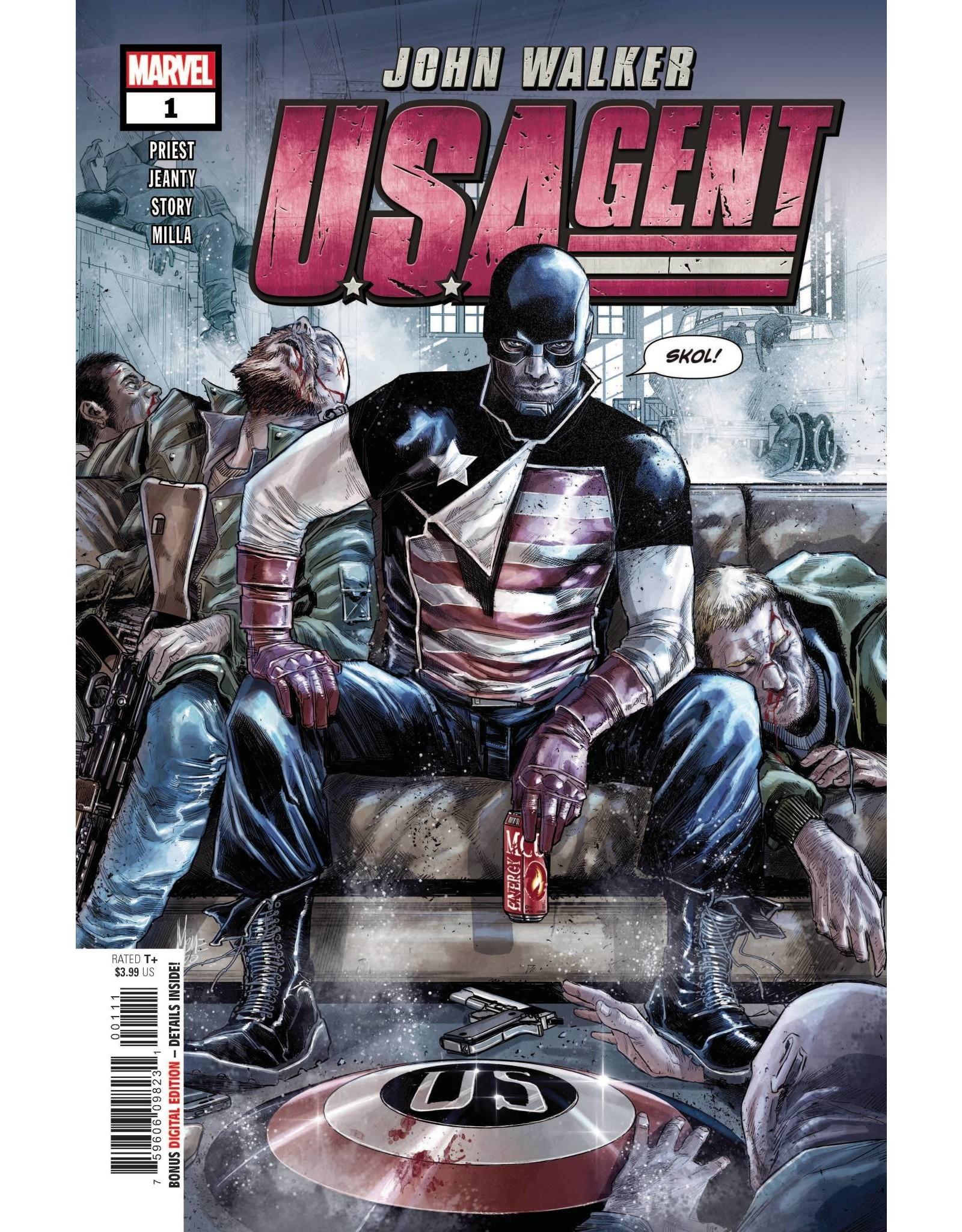Marvel Comics US AGENT #1 (OF 5)