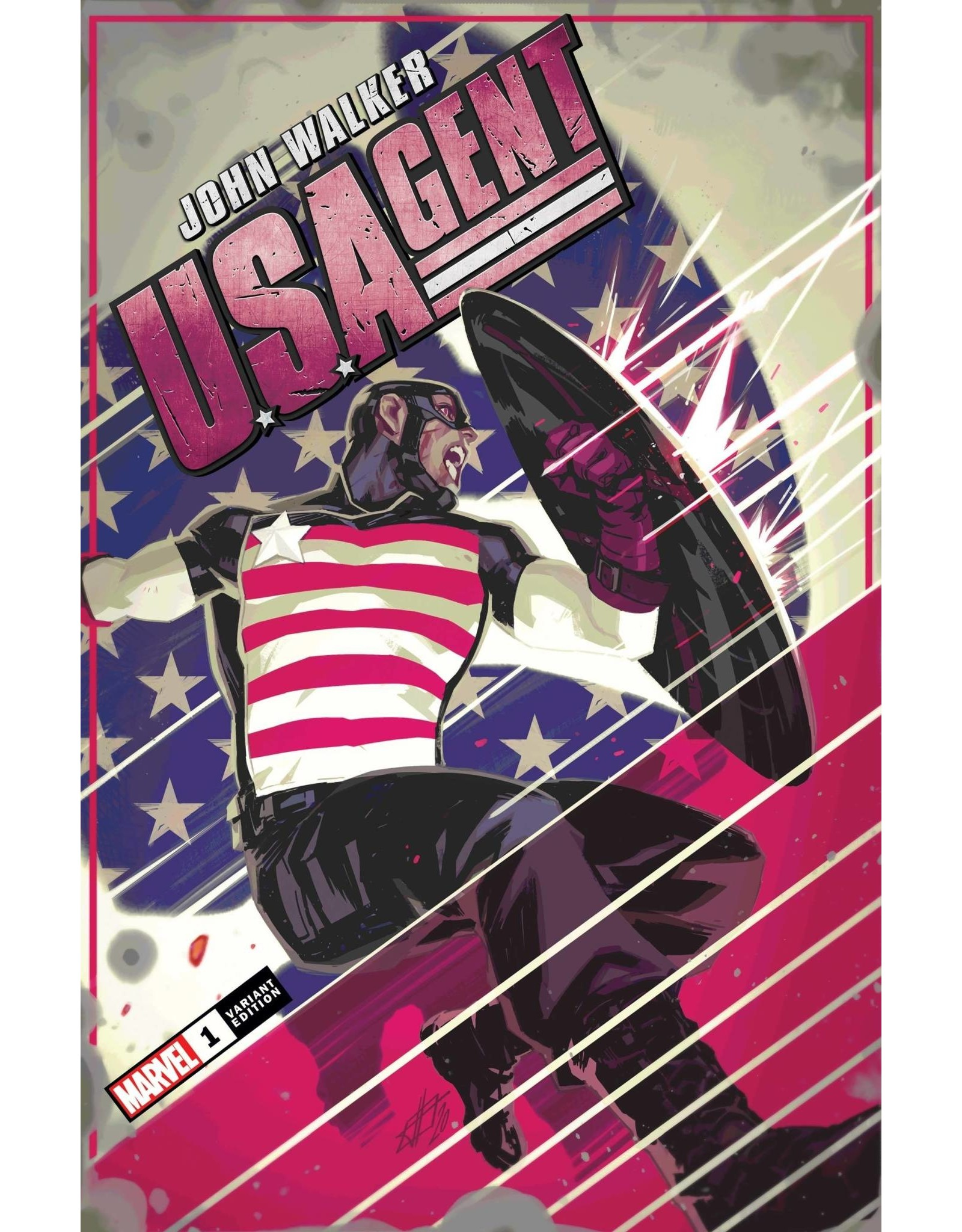 Marvel Comics US AGENT #1 (OF 5) INFANTE VAR
