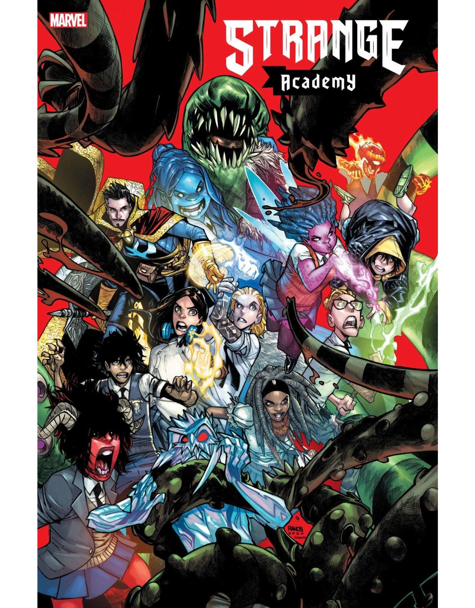Marvel Comics STRANGE ACADEMY #1 4TH PTG VAR