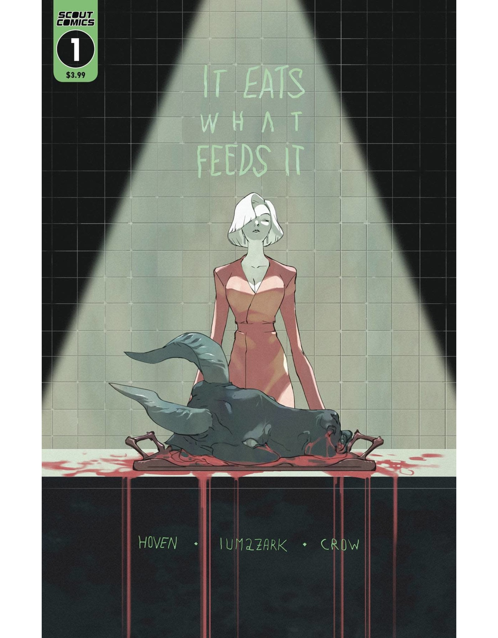 SCOUT COMICS IT EATS WHAT FEEDS IT #1 3RD PTG