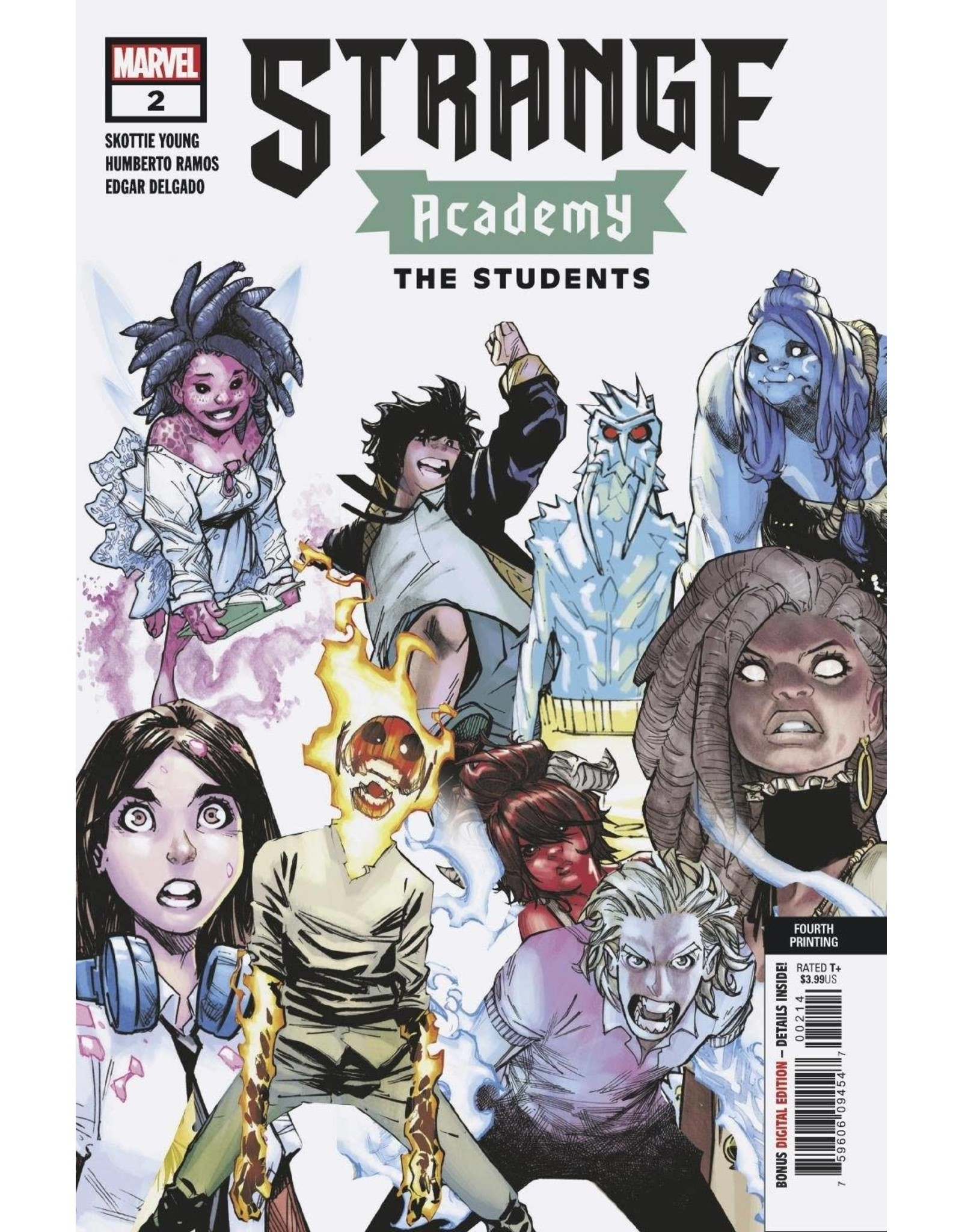 Marvel Comics STRANGE ACADEMY #2 4TH PTG VAR