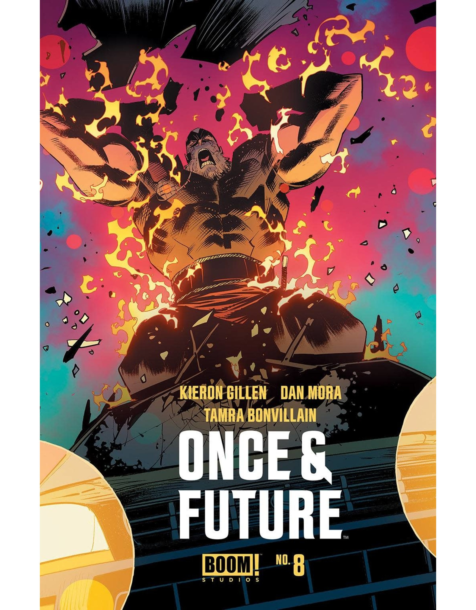Boom! Studios ONCE AND FUTURE #8 2ND PTG