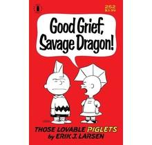 SAVAGE DRAGON #252 2ND PTG CHARLIE BROWN PARODY CVR (MR)