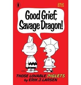 Image Comics SAVAGE DRAGON #252 2ND PTG CHARLIE BROWN PARODY CVR (MR)