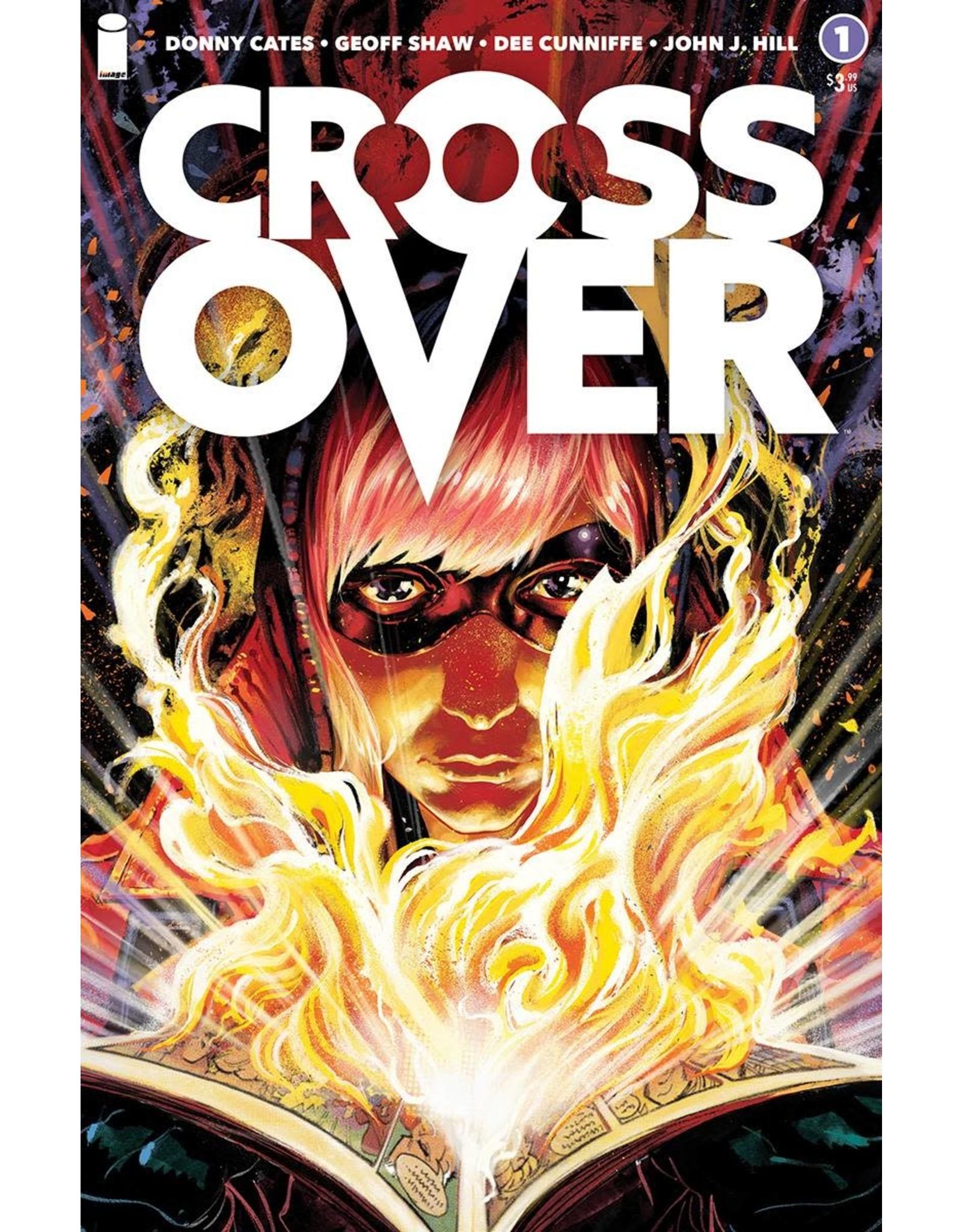 Image Comics CROSSOVER #1 CVR C SHAW