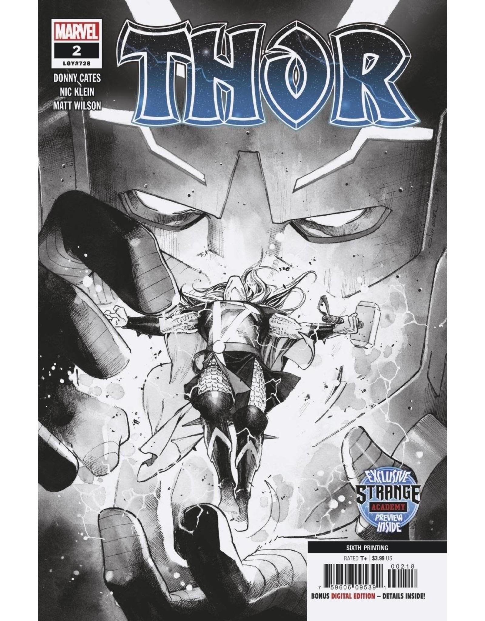 Marvel Comics THOR #2 6TH PTG COIPEL VAR