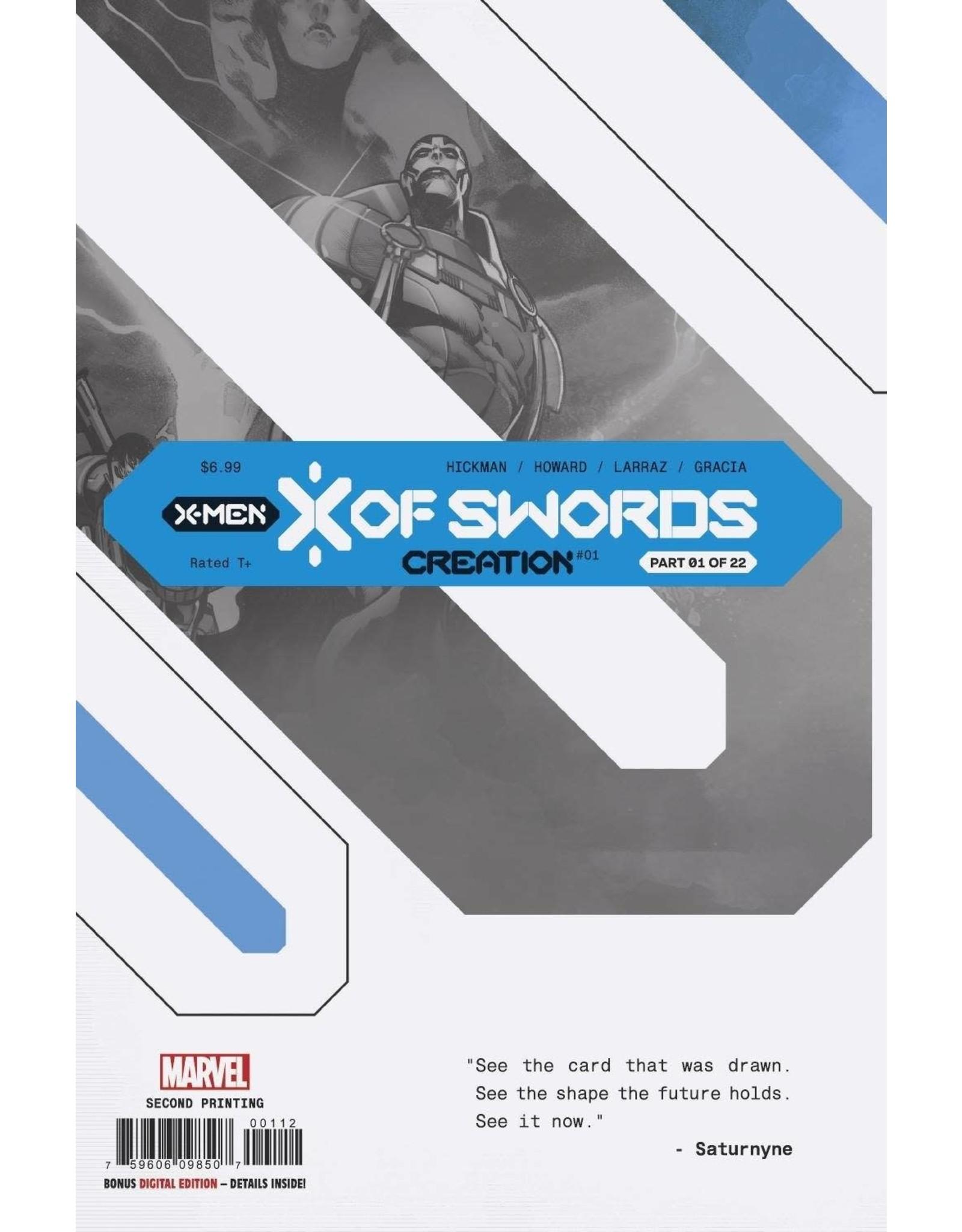 Marvel Comics X OF SWORDS CREATION #1 2ND PTG LARRAZ VAR