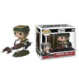 Funko POP DELUXE STAR WARS LEIA ON SPEEDER BIKE VINYL FIG (C: 1-1-