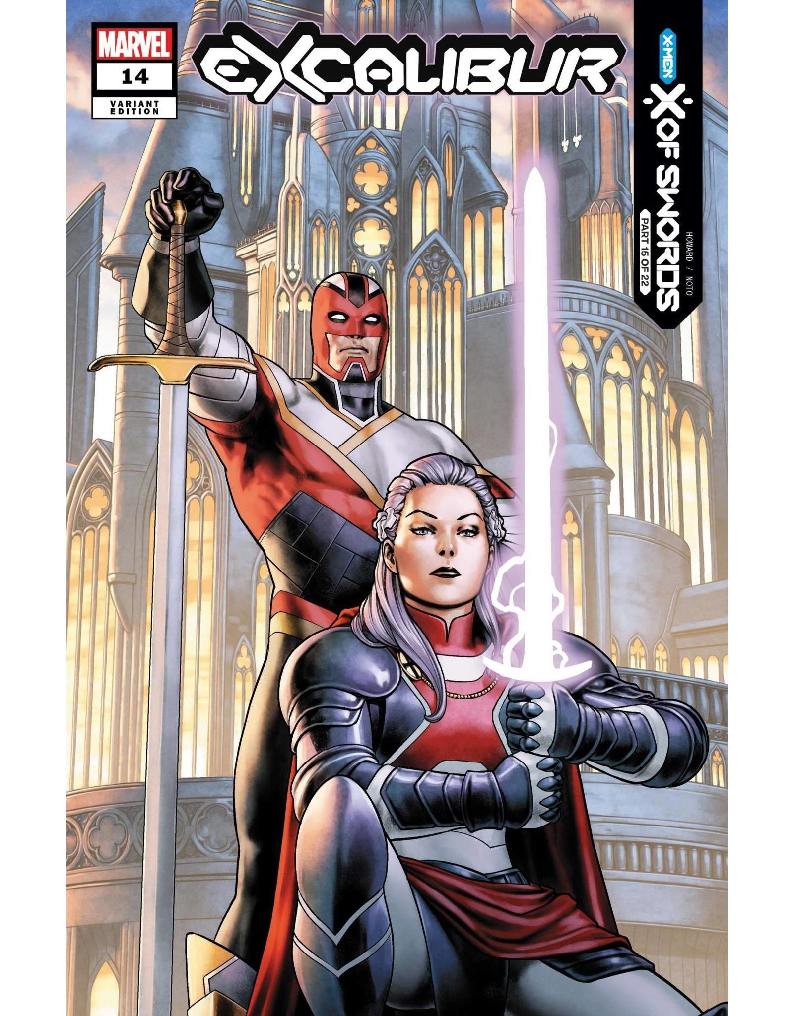 Marvel Comics EXCALIBUR #14 SAIZ VAR XOS