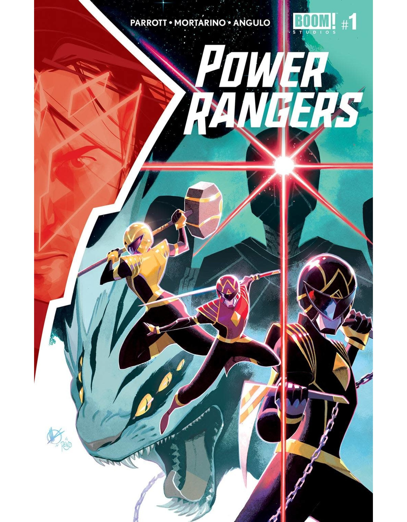 Boom! Studios POWER RANGERS #1 CVR A SCALERA (C: 1-0-0)