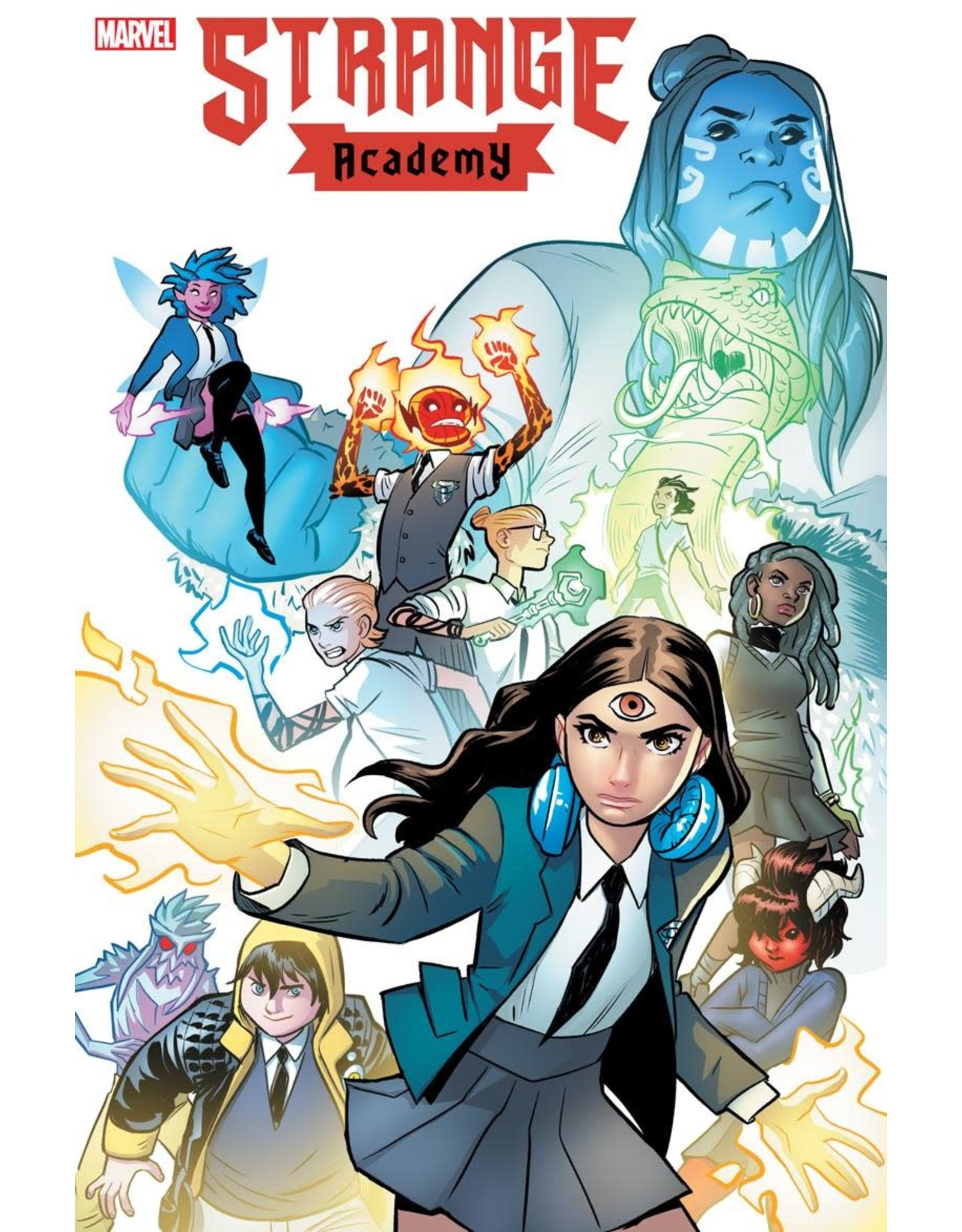 Marvel Comics STRANGE ACADEMY #3 2ND PTG VAR