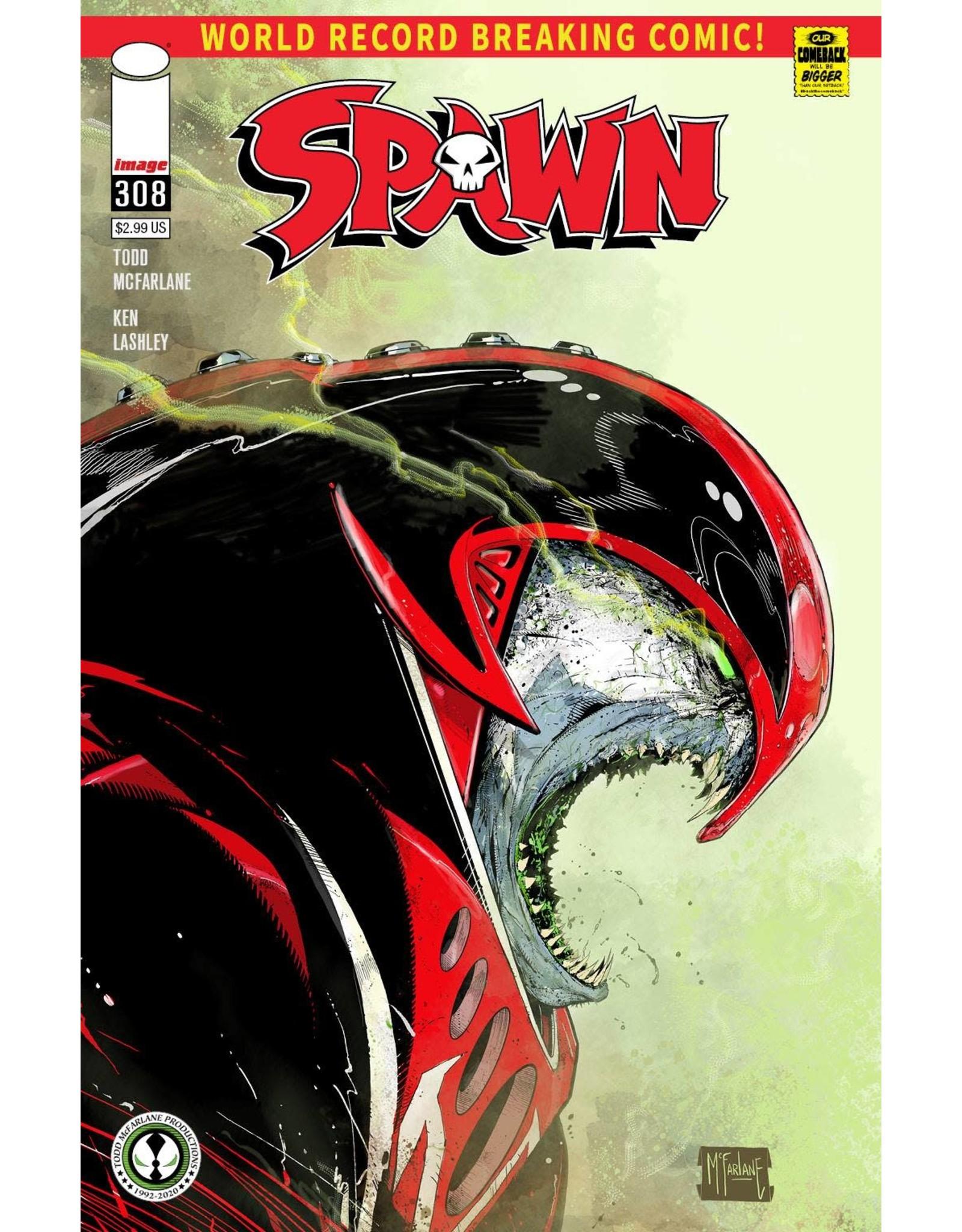 Image Comics SPAWN #308 2ND PTG