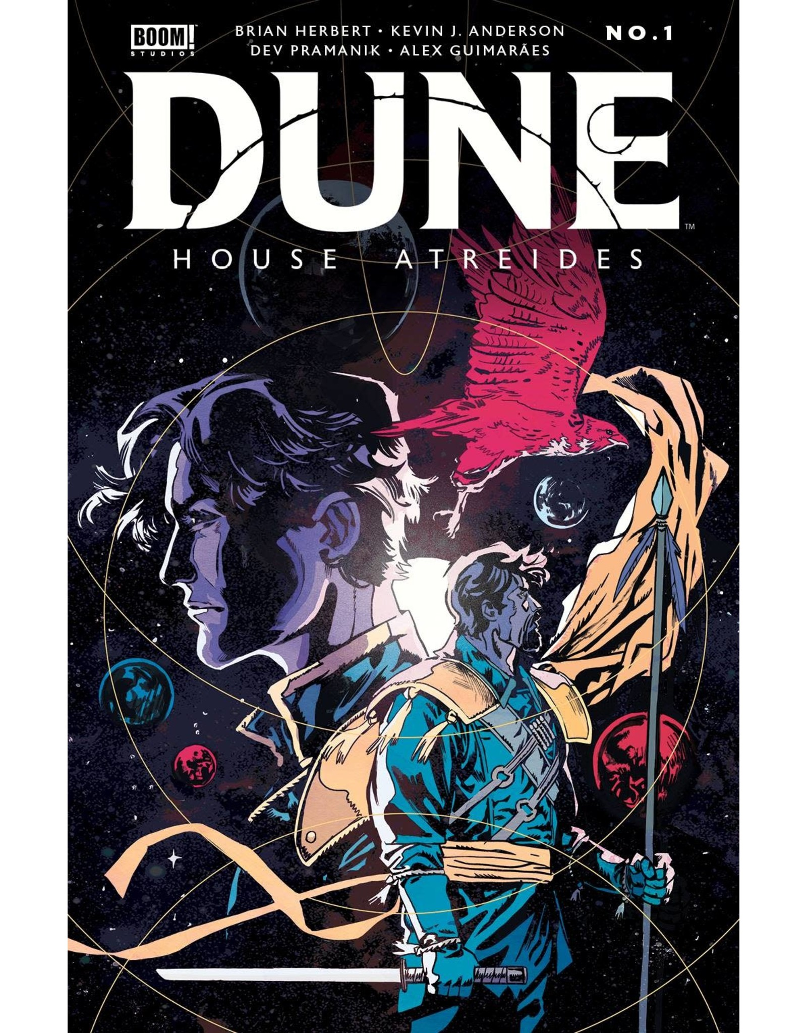 BOOM ENTERTAINMENT DUNE HOUSE ATREIDES #1 (OF 12) 2ND PTG