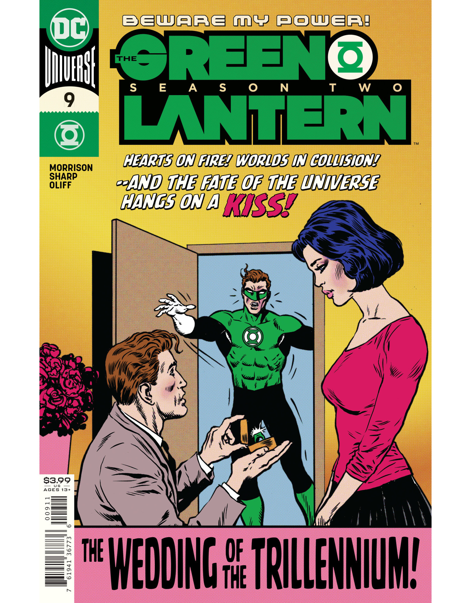 DC Comics GREEN LANTERN SEASON TWO #9 (OF 12) CVR A LIAM SHARP