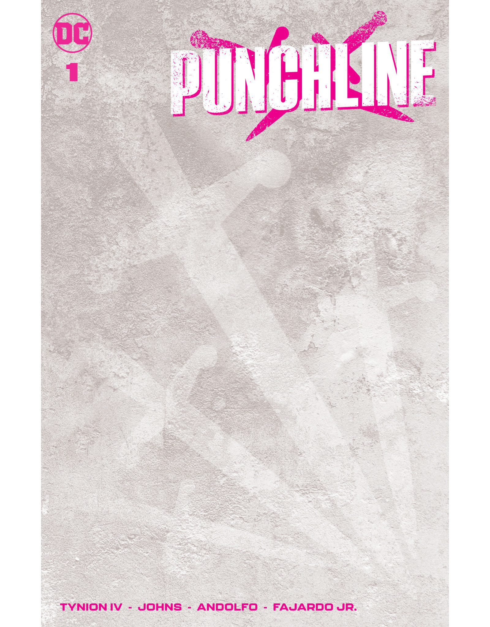 DC Comics PUNCHLINE SPECIAL #1 (ONE SHOT) CVR C BLANK VAR