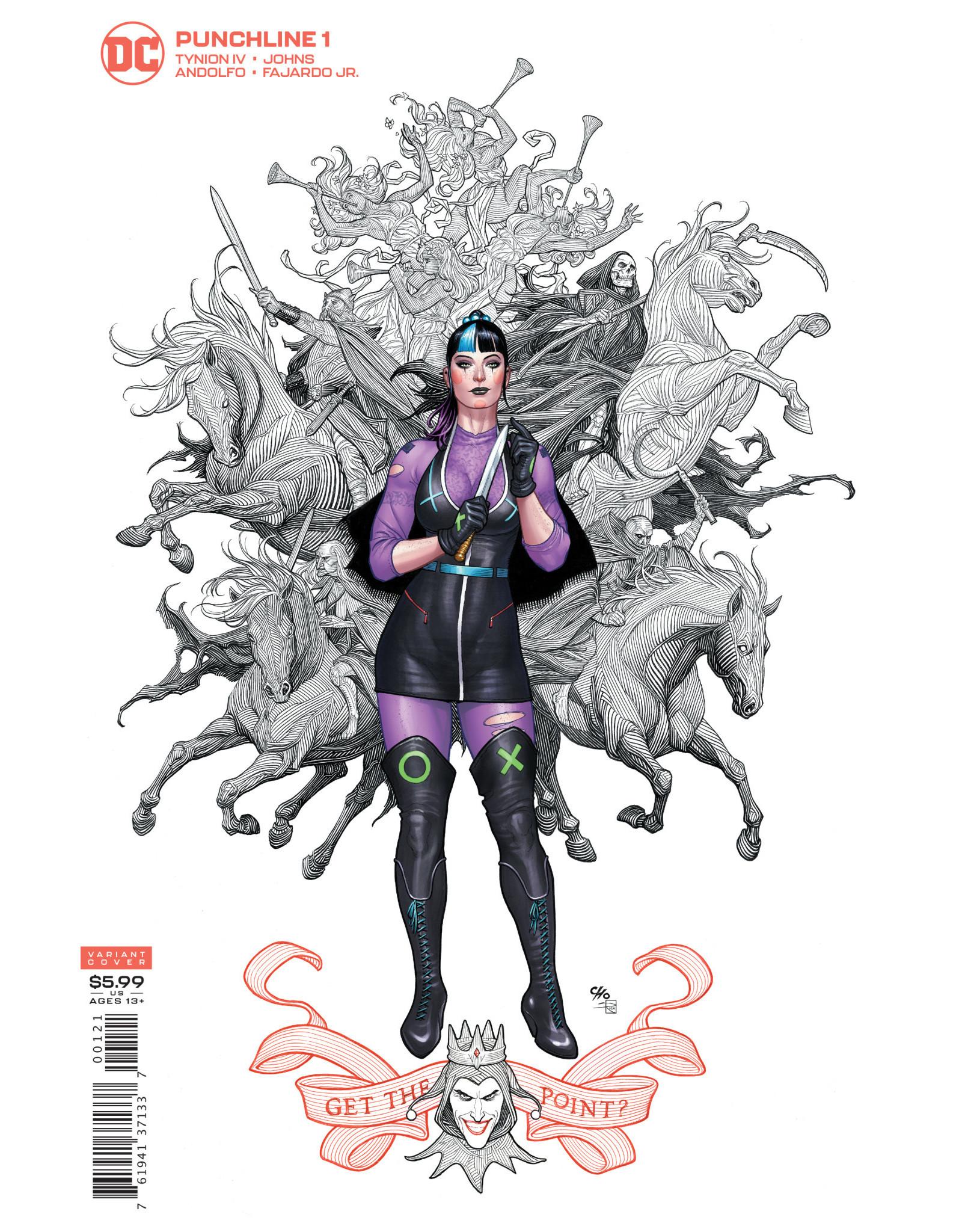 DC Comics PUNCHLINE SPECIAL #1 (ONE SHOT) CVR B FRANK CHO CARD STOCK VAR