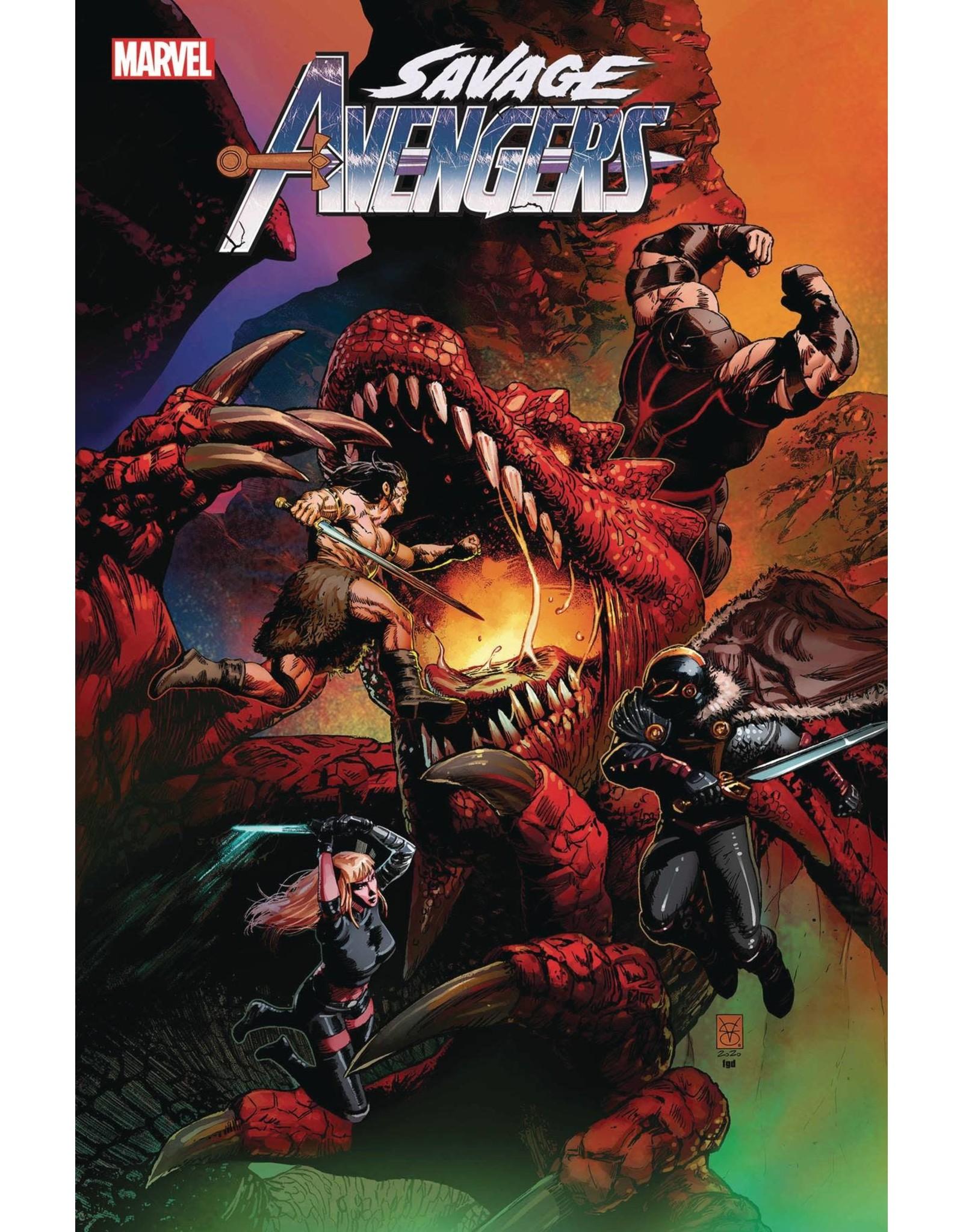 Marvel Comics SAVAGE AVENGERS #14