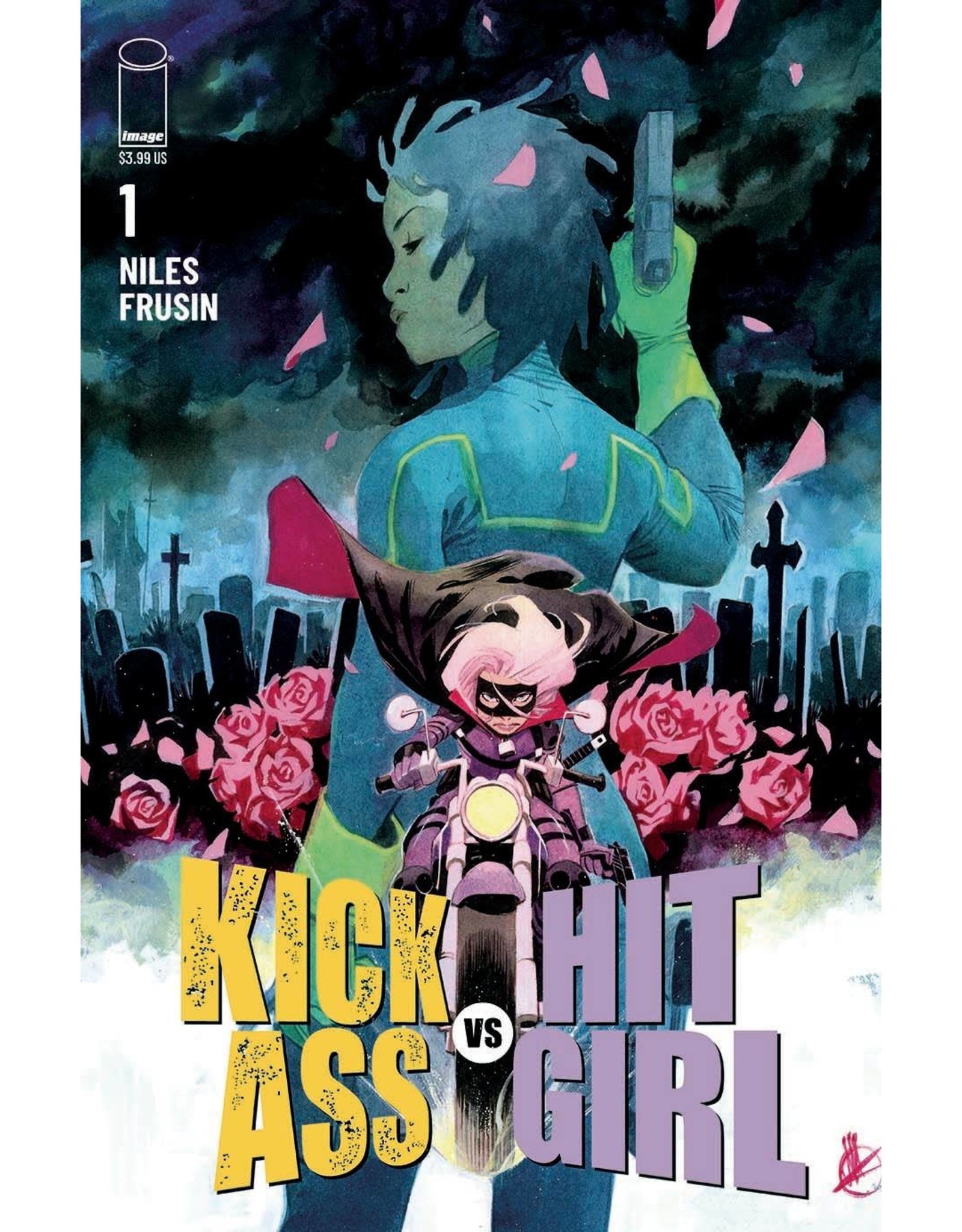 Image Comics KICK-ASS VS HIT-GIRL #1 (OF 5) CVR C SCALERA (RES) (MR)