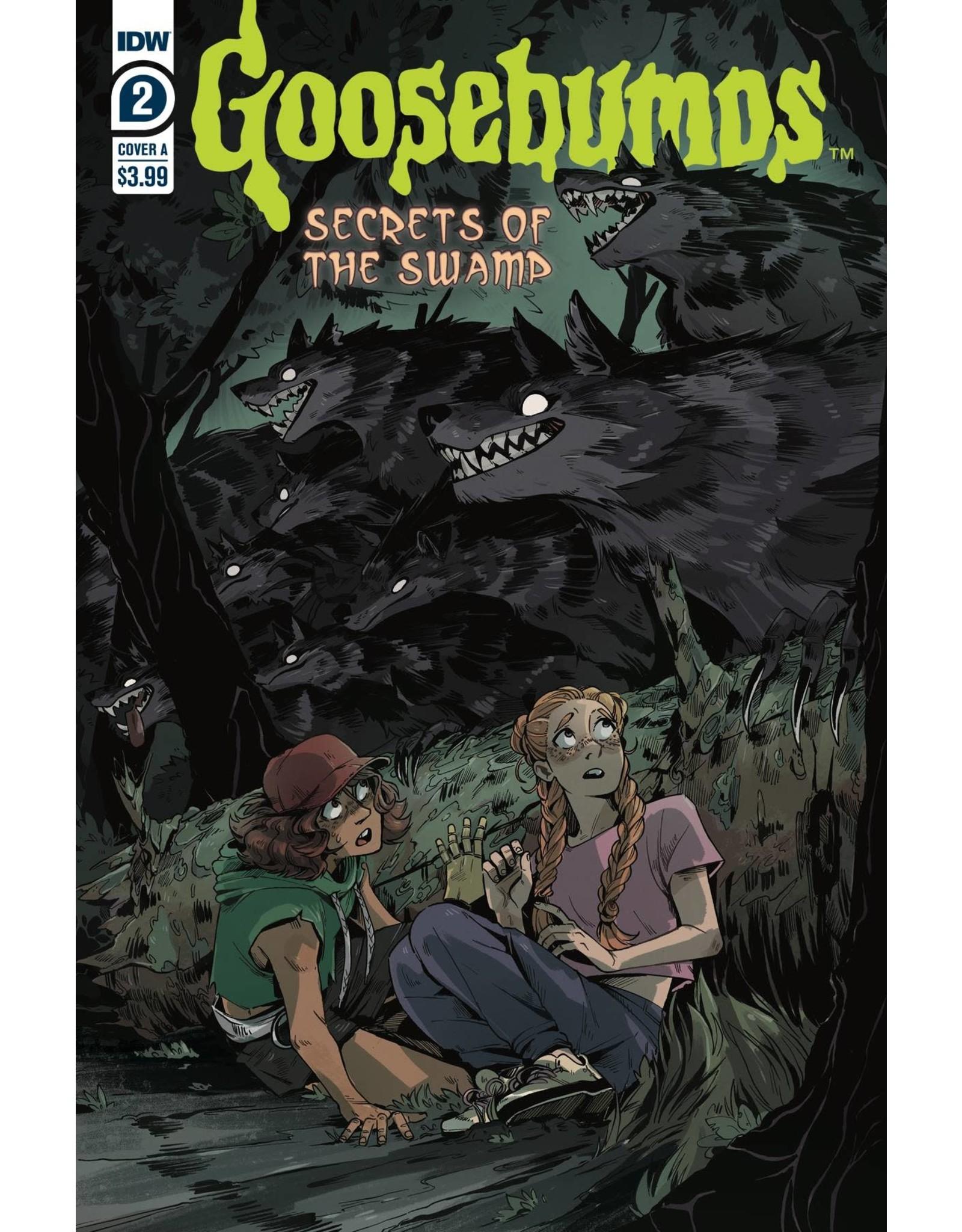 IDW PUBLISHING GOOSEBUMPS SECRETS OF THE SWAMP #2 (OF 5)