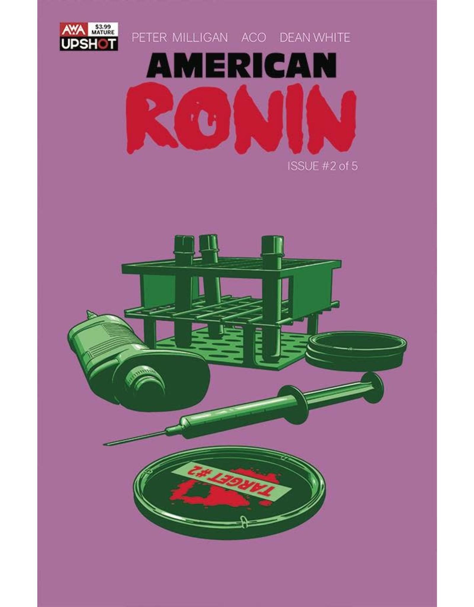 ARTISTS WRITERS & ARTISANS INC AMERICAN RONIN #2 (OF 5) CVR A ACO (MR)
