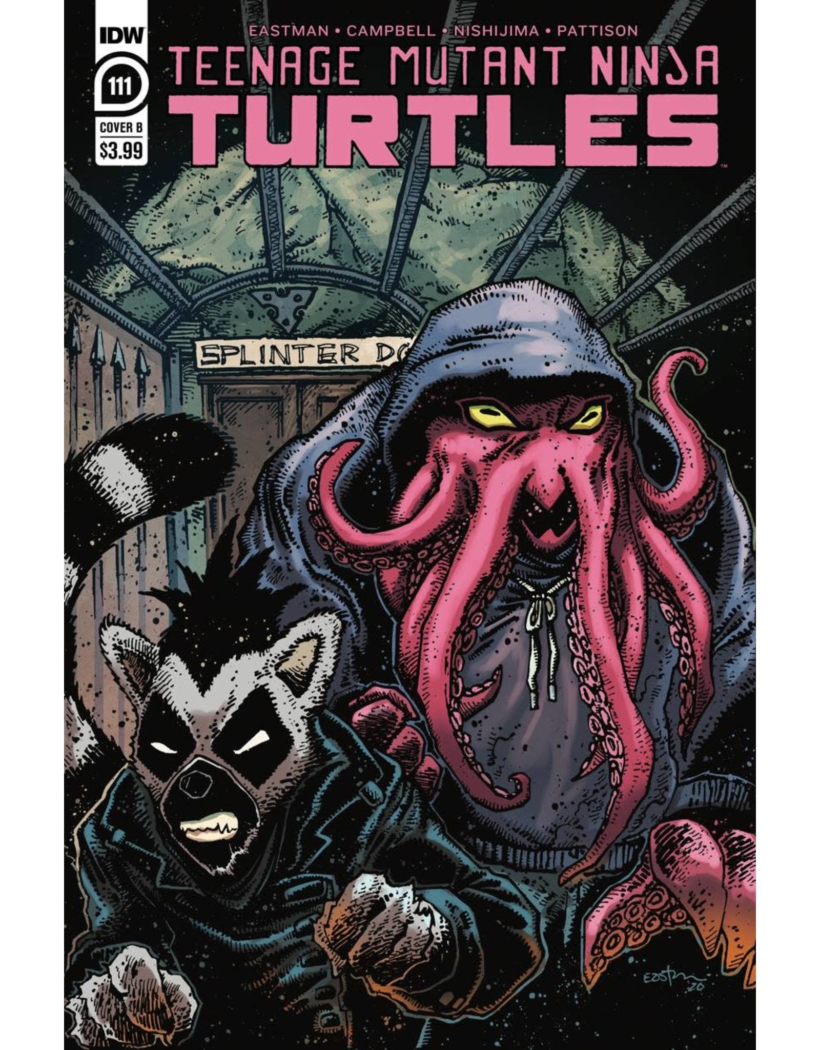 IDW PUBLISHING TMNT ONGOING #111 CVR B EASTMAN