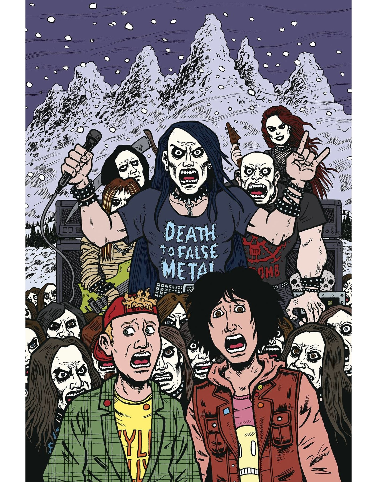 DARK HORSE COMICS BILL & TED ARE DOOMED #3 (OF 4) CVR A DORKIN