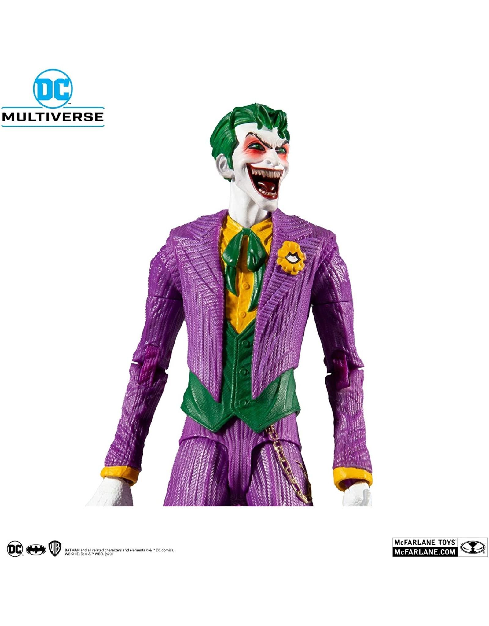 "McFarlane Toys McFarlane Toys DC Multiverse The Joker: DC Rebirth 7"" Action Figure"
