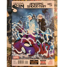 Marvel Comics Amazing Spider-Man #5 2nd Silk Appearance VF