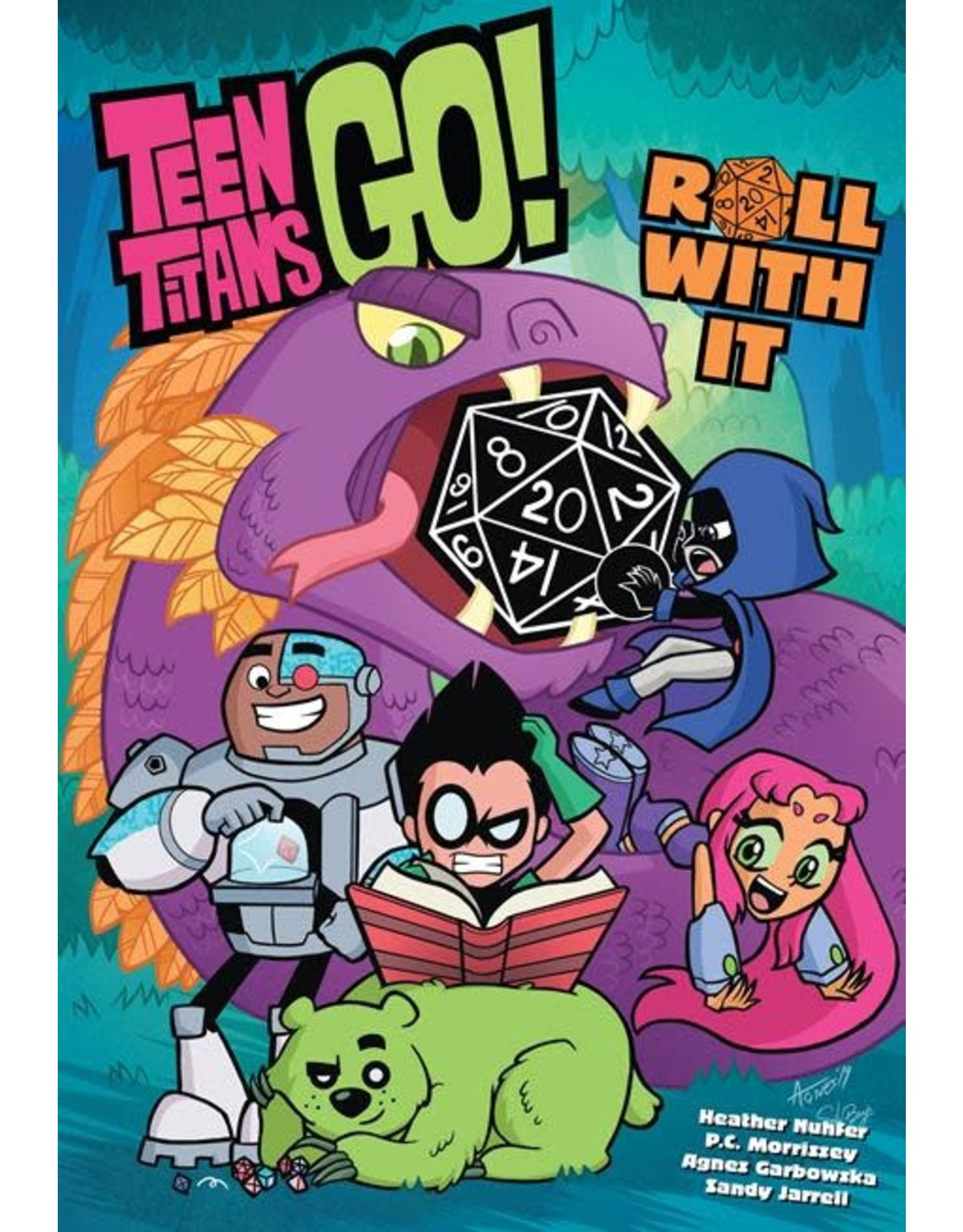 DC Comics TEEN TITANS GO ROLL WITH IT