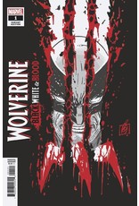 Marvel Comics WOLVERINE BLACK WHITE BLOOD #1 ERROR  (OF 4) GARNEY VAR