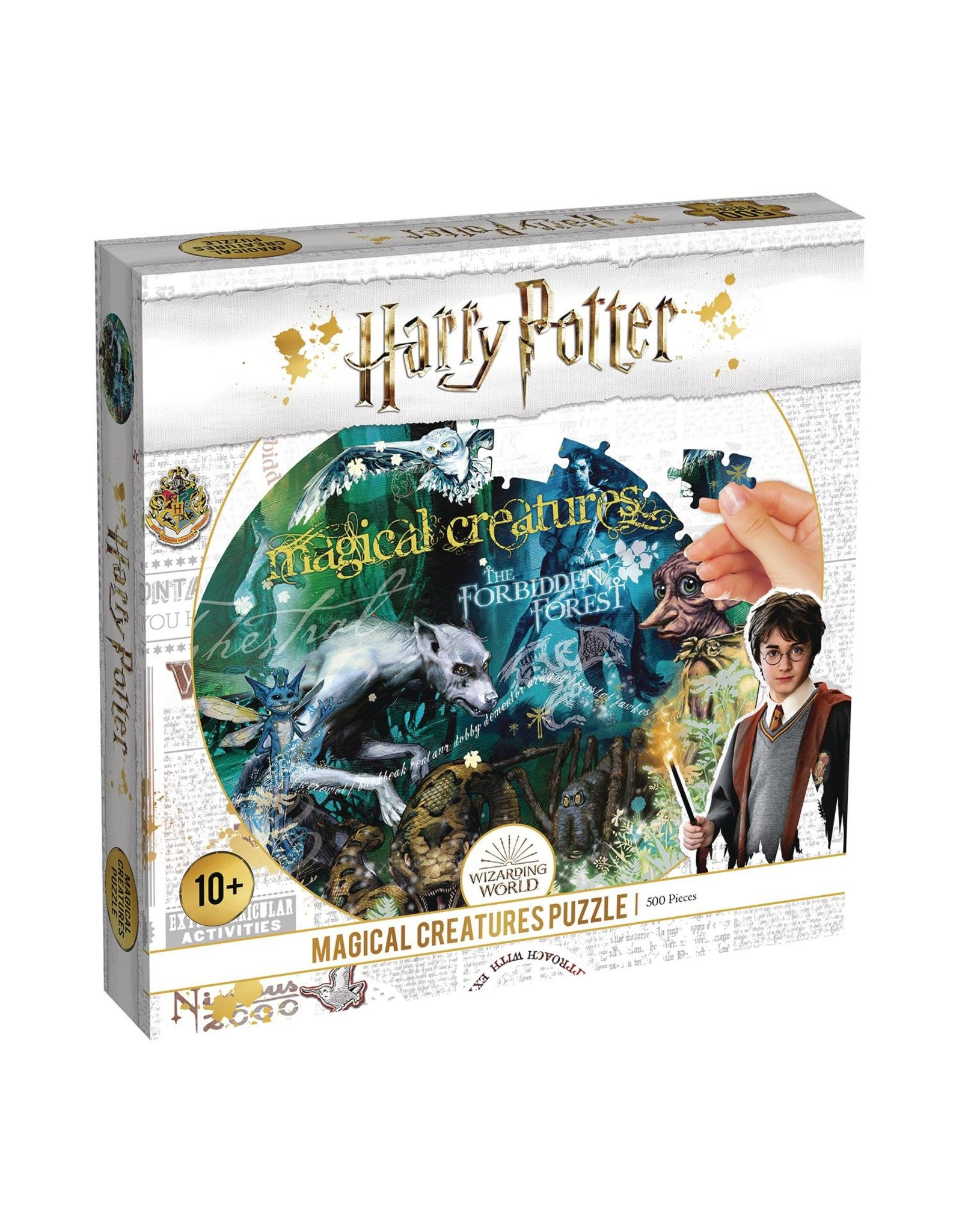 Top Trumps HARRY POTTER MAGICAL CREATURES 500 PC PUZZLE (C: 1-1-2)
