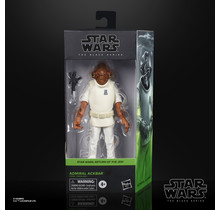 Star Wars The Black Series Admiral Ackbar Collectible Toy Figure
