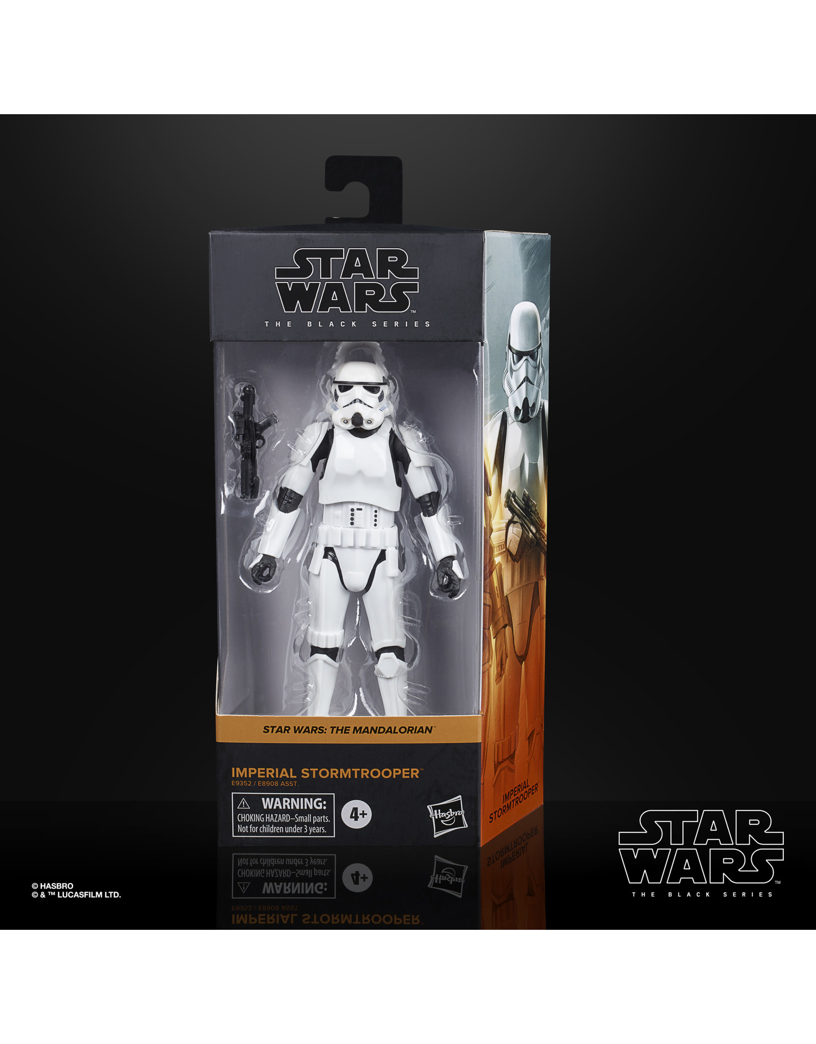 Hasbro Star Wars The Black Series Imperial Stormtrooper Collectible Figure
