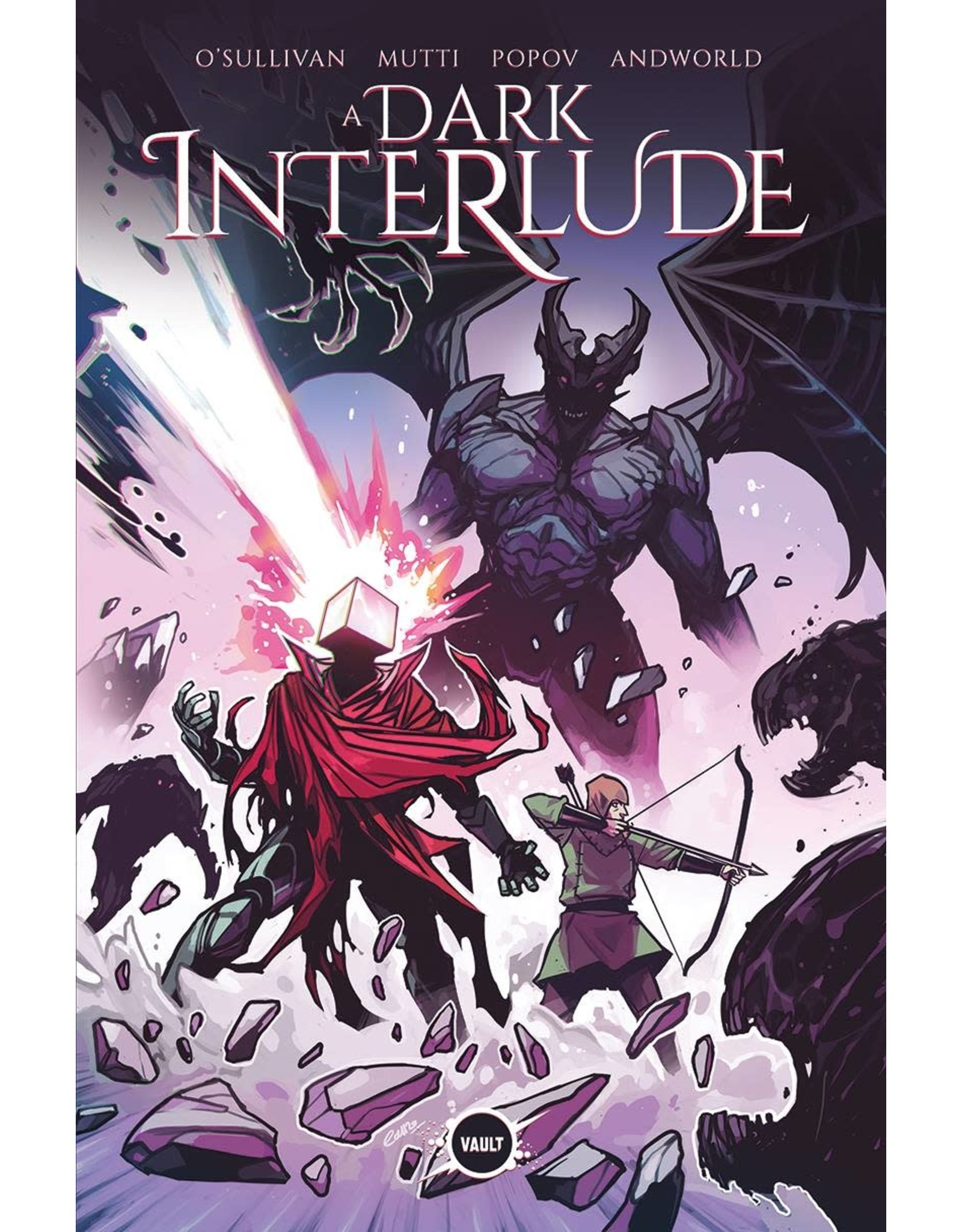 VAULT COMICS DARK INTERLUDE #1 15 COPY INCV WIJNGAARD (MR)