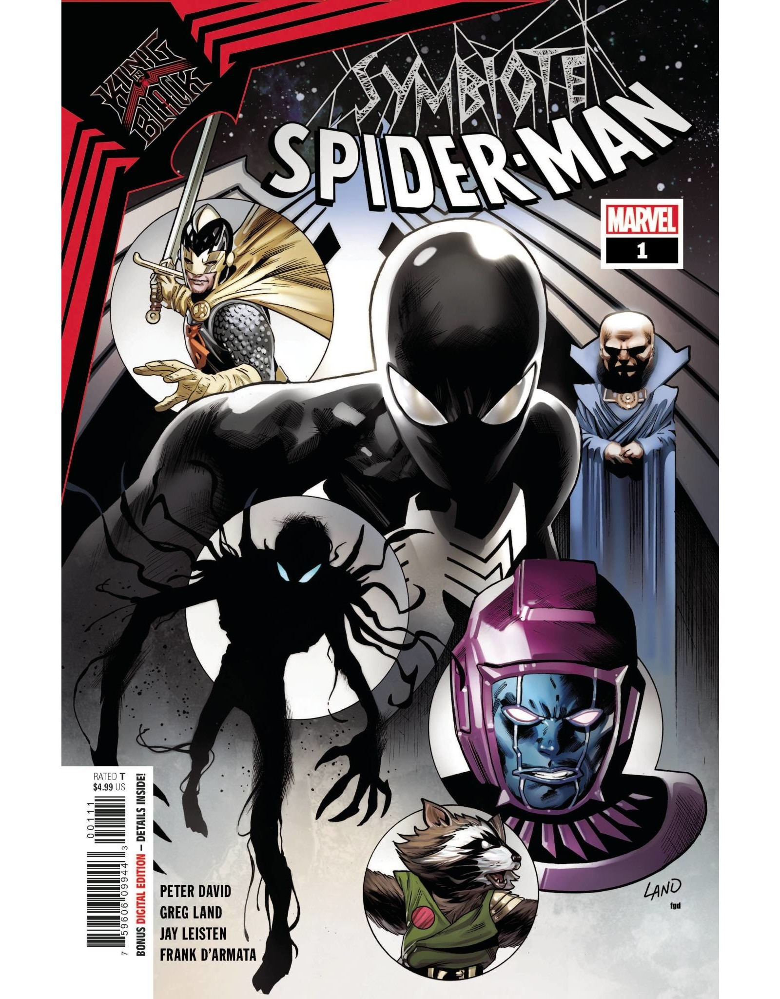 Marvel Comics SYMBIOTE SPIDER-MAN KING IN BLACK #1