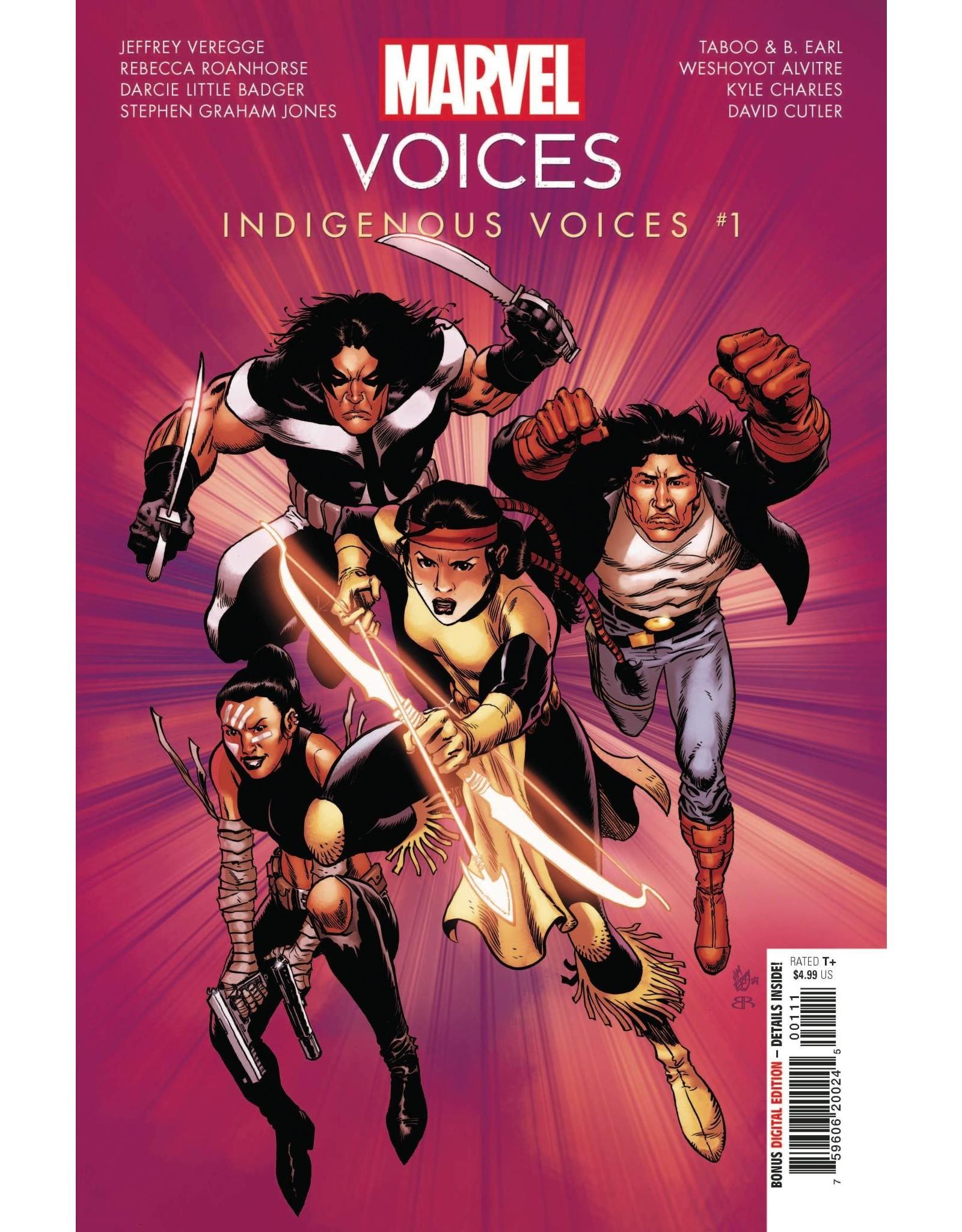 Marvel Comics MARVELS VOICES INDIGENOUS VOICES #1