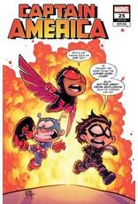 Marvel Comics CAPTAIN AMERICA #25 YOUNG VAR