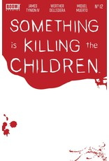 Boom! Studios SOMETHING IS KILLING CHILDREN #12 CVR C BLOODY BLANK SKETCH