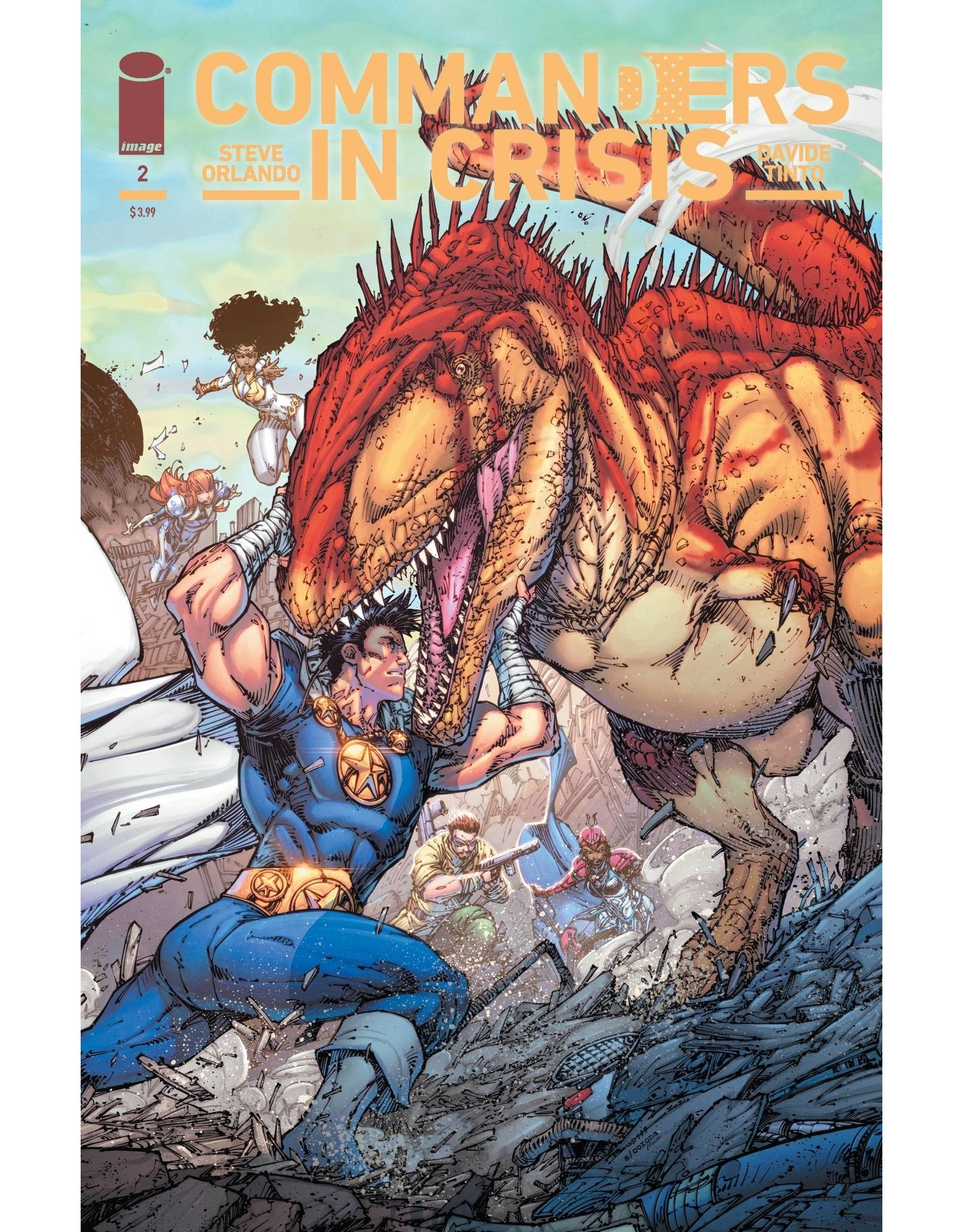 Image Comics COMMANDERS IN CRISIS #2 (OF 12) CVR D 10 COPY INCV BOOTH (MR