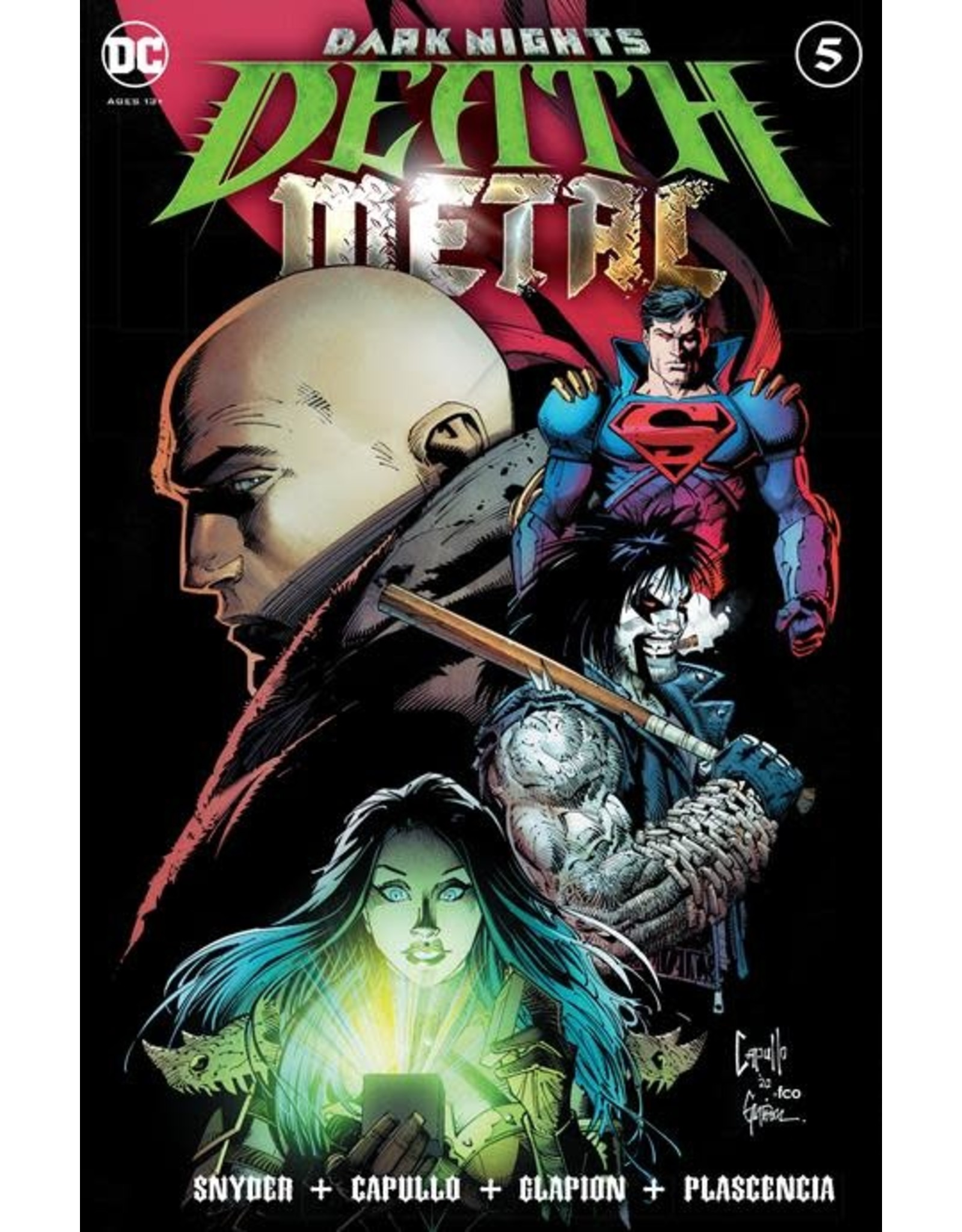 DC Comics DARK NIGHTS DEATH METAL #5 (OF 7) CVR A GREG CAPULLO EMBOSSED FOIL