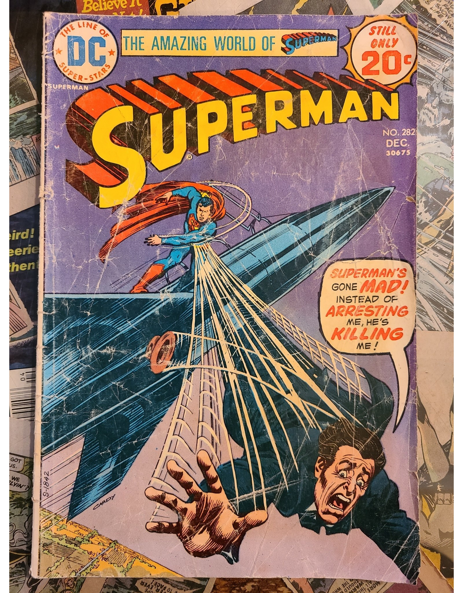 DC Comics SUPERMAN #282 GD-