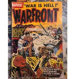 HARVEY PICTURE MAGAZINE WARFRONT #17 VG-