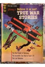 GOLD KEY RIPLEY'S BELIEVE IT OR NOT TRUE WAR STORIES #1 GD+